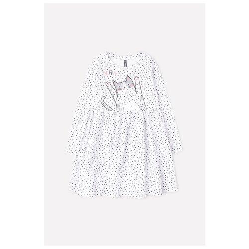 Купить Платье crockid размер 92, св.серый меланж, Платья и юбки