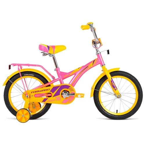 Детский велосипед FORWARD Crocky 16 (2019) розовый (требует финальной сборки)
