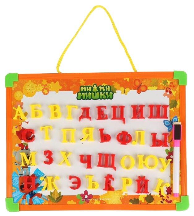 Доска для рисования детская Играем вместе Мимимишки с русскими буквами (L787-H27560-MIMI)