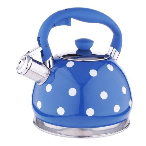 Vetta Чайник Горошек 847063 2 л синий/белыйЧайники<br>