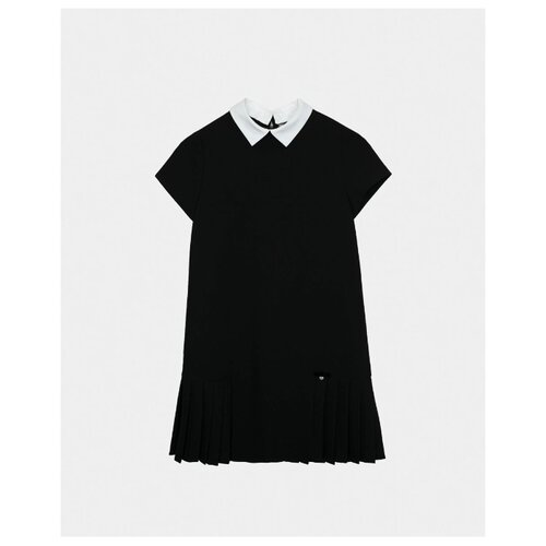 Платье Gulliver размер 152, черный платье oodji ultra цвет красный белый 14001071 13 46148 4512s размер xs 42 170