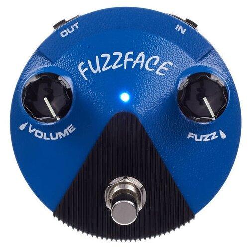 Dunlop педаль FFM1 Silicon Fuzz Face Mini Distortion dunlop ffm4 joe bonamassa fuzz face mini distortion limited edition pedal