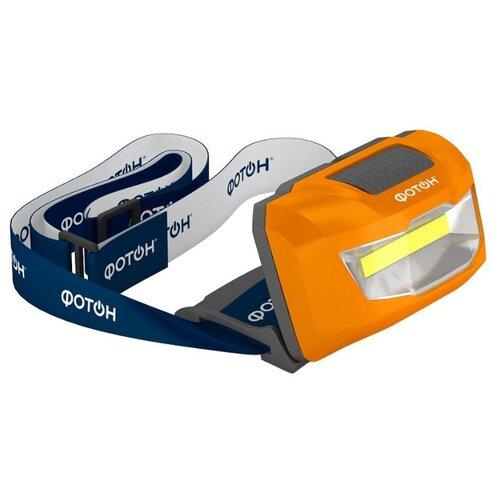 Налобный фонарь ФОТОН SH-600 оранжевый ручной фонарь фотон рb 5200