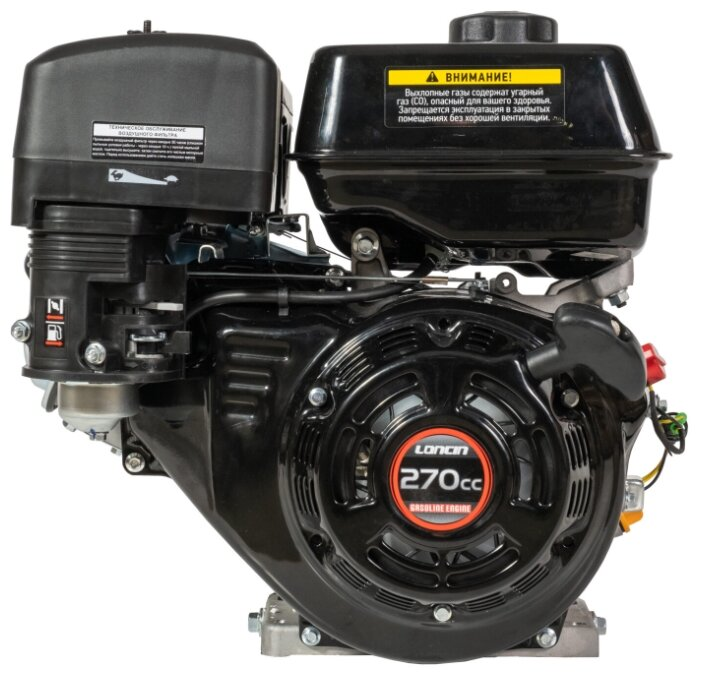 Бензиновый двигатель LONCIN G270F-B