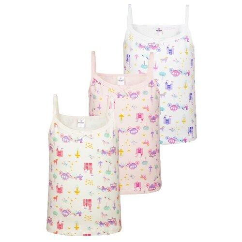 Купить Майка BAYKAR размер 134/140, белый/молочный/розовый, Белье и купальники