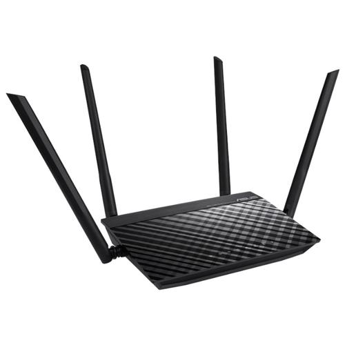 Wi-Fi роутер ASUS RT-AC51 черный wi fi адаптер asus usb ac56