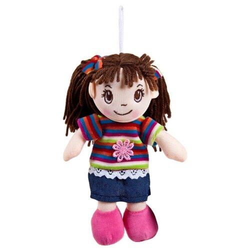 Мягкая игрушка ABtoys Кукла в платье в полоску 20 см ABtoys   фото