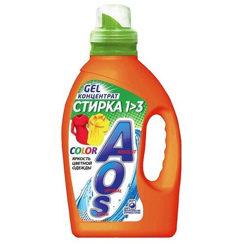 Гель AOS Color, 1.3 кг, бутылка