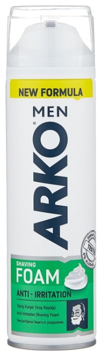 Пена для бритья Anti Irritation Arko
