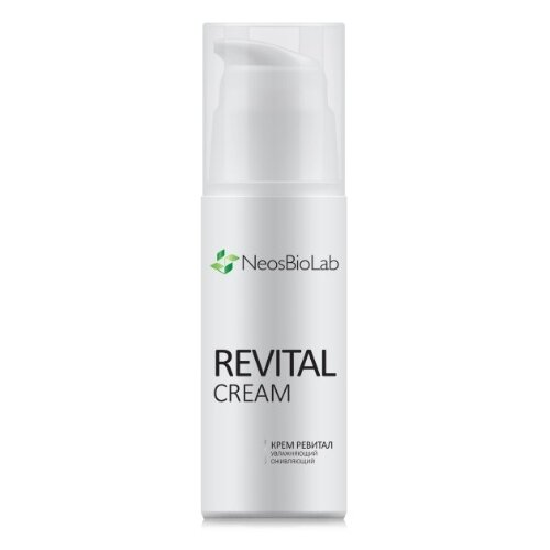 NeosBioLab Revital Cream Крем Ревитал увлажняющий, оживляющий для лица, шеи и зоны декольте, 50 мл