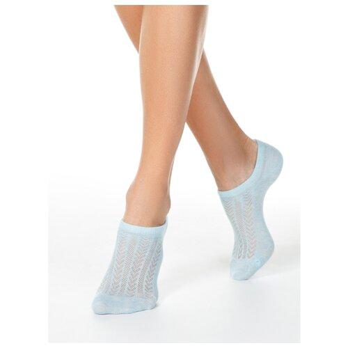 Фото - Носки Conte Elegant Active 19С-185СП 179, размер 23, бледно-бирюзовый носки conte elegant comfort 19с 101сп размер 23 темно бордовый