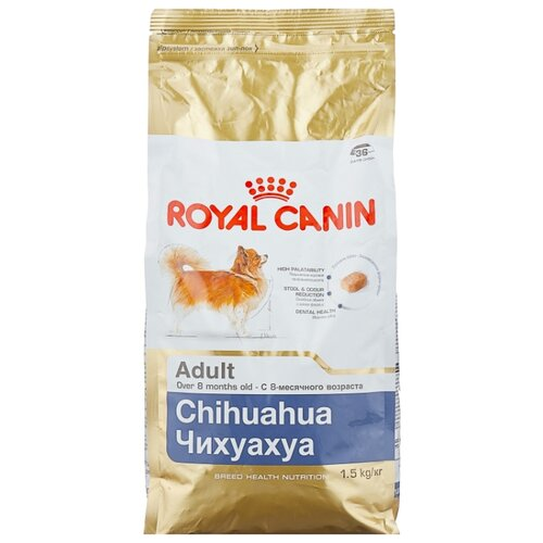 Корм для собак Royal Canin (1.5 кг) Chihuahua Adult 1.5 кг (для мелких пород) недорого