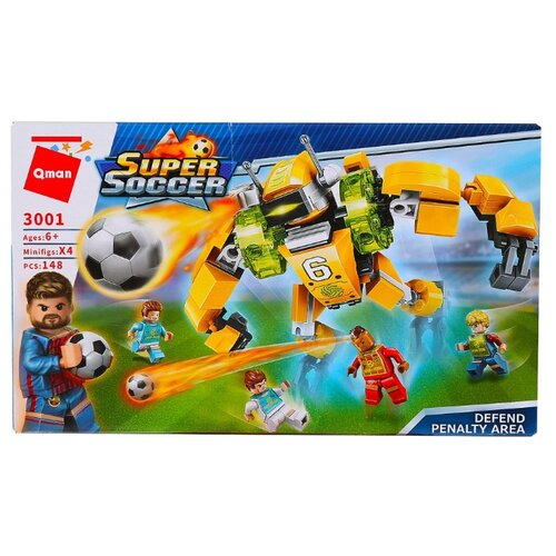 Конструктор Qman Super Soccer 3001 Большой защитник