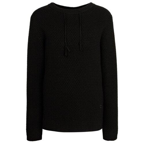 Купить Джемпер Paolo Pecora размер 164, черный, Свитеры и кардиганы