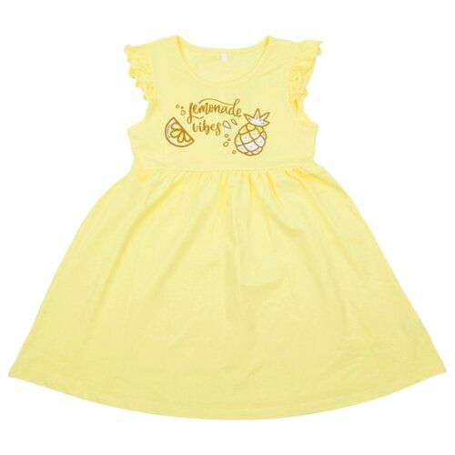 Купить Платье Leader Kids размер 98, желтый, Платья и сарафаны
