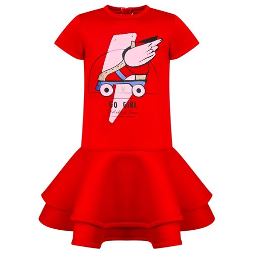 Платье Billieblush размер 116, красный платье oodji ultra цвет красный белый 14001071 13 46148 4512s размер xs 42 170