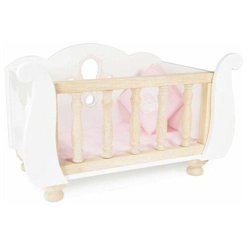 Купить Игрушечная кровать для куклы, Le Toy Van, Мебель для кукол