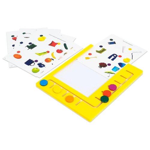 Купить ZABIAKA Логический планшет Умный планшет с карточками, 2-3 года SL-02716 4357248, IQ-ZABIAKA, Настольные игры