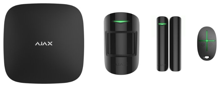 Комплект умного дома AJAX StarterKit Plus black