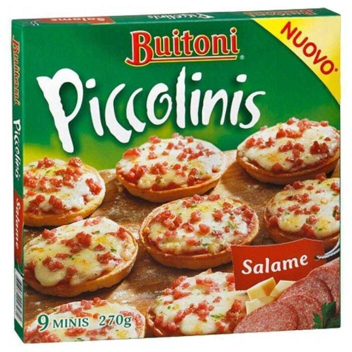 Buitoni Замороженная пицца Piccolini Салями (9 minis) 270 г