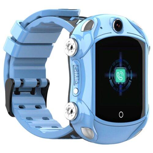Детские умные часы c GPS Smart Baby Watch KT14 голубой детские умные часы c gps smart baby watch kt03 голубой синий