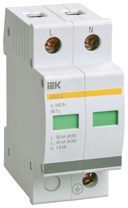 Защита от перенапряжения IEK MOP20-2-D