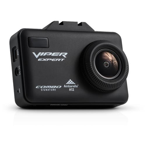 Видеорегистратор с радар-детектором VIPER Combo Expert Wi-Fi Signature, GPS, ГЛОНАСС черный