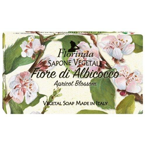 Мыло кусковое Florinda Цветы и Цветы Абрикосовый цвет, 100 г