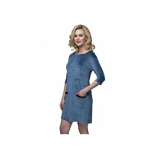 Платье Lelio размер M голубой сорочка lelio