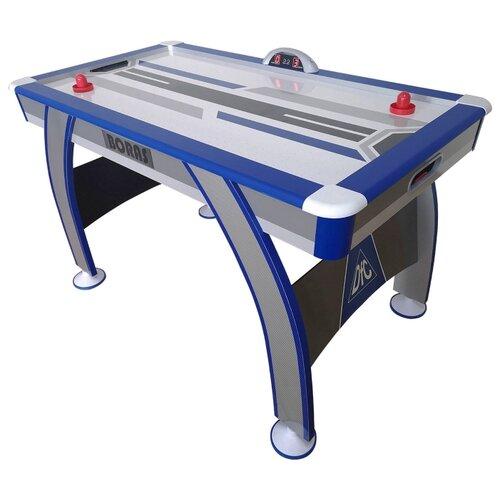 Игровой стол для аэрохоккея DFC Boras 54 JG-AT-15404 черный/синий/серый