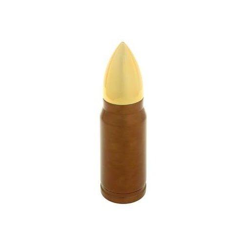 Классический термос TUNDRA Пуля, 0.35 л золотистый/коричневый