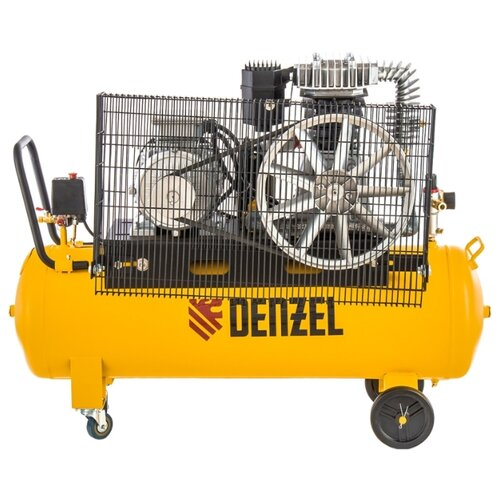 Компрессор масляный Denzel DR 4000/100, 100 л, 4 кВт