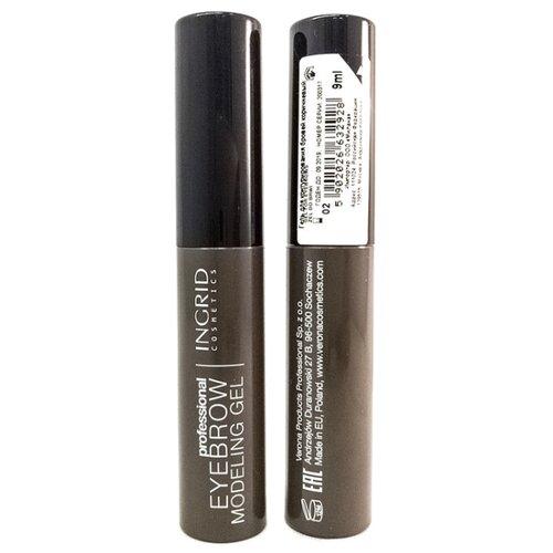Ingrid Cosmetics Гель для контурирования бровей Professional Eyebrow Modeling Gel коричневый