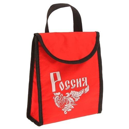 Фото - Komandor Термосумка Россия красный 3 л iris barcelona термосумка cubic happy lunchbag зигзаг 3 9 л