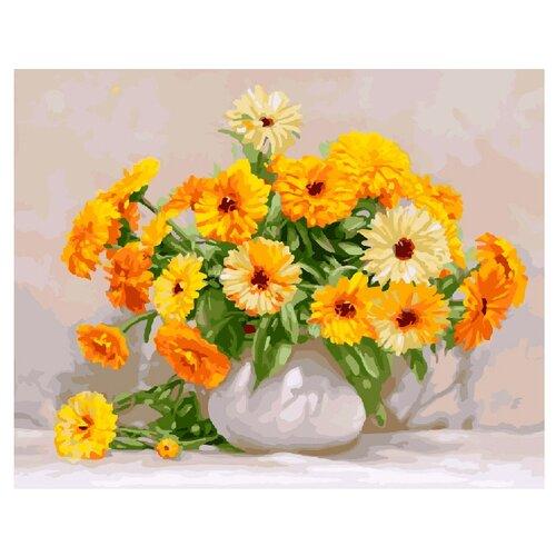 Купить ВанГогВоМне Картина по номерам Цветочная радость , 40х50 (ZX 21129), Картины по номерам и контурам