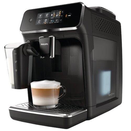 Кофемашина Philips EP2231 Series 2200 LatteGo глянцевый черный кофемашина автоматическая philips ep 5030 10 series 5000 lattego
