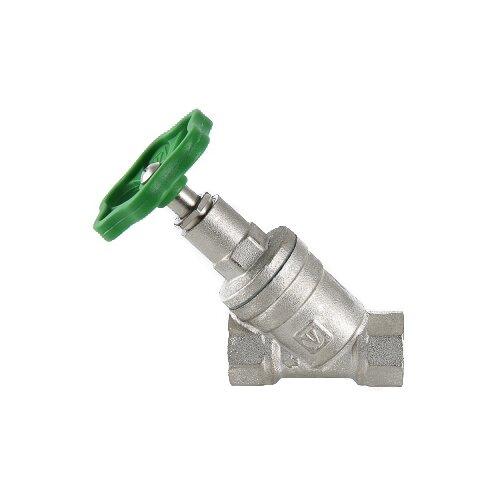 """Запорный клапан VALTEC VT.052.N.05 муфтовый (ВР/ВР), латунь Ду 20 (3/4"""")"""