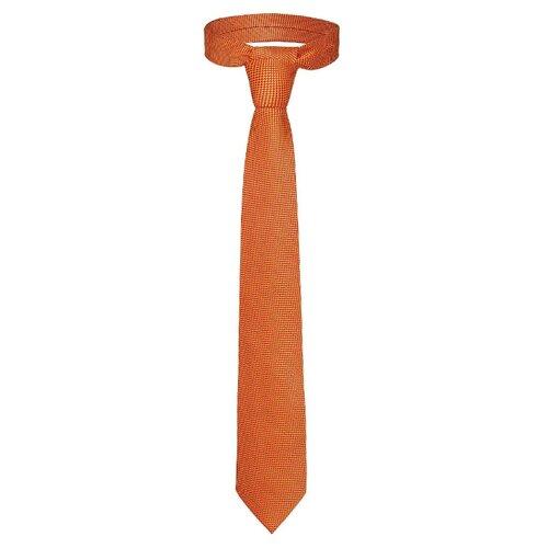 цена Галстук Signature Брокер (209457) оранжевый/желтый онлайн в 2017 году