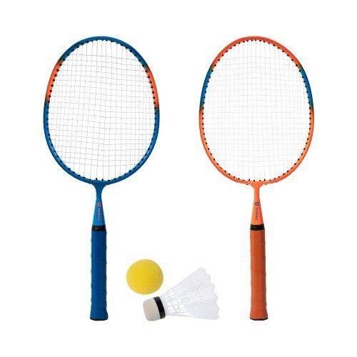 Купить Набор для бадминтона Torneo AIR 2.0 (3PNFYHY2JI) синий/оранжевый, Спортивные игры и игрушки