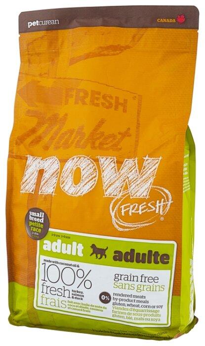 Сухой корм для собак NOW FRESH лосось, утка, индейка 2.72 кг (для мелких пород)