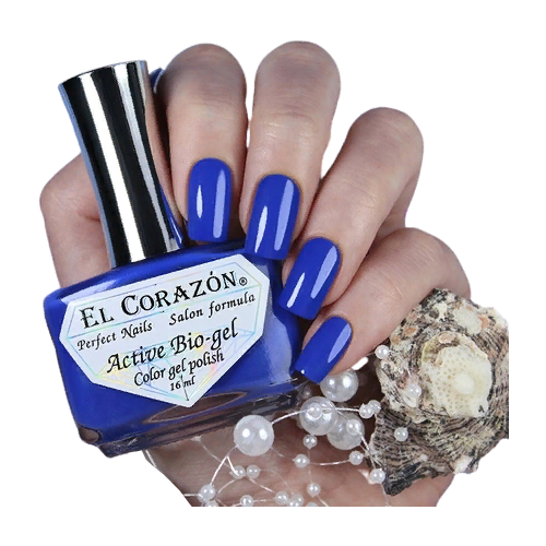 Гель El Corazon Active Bio-gel polish Cream, 16 мл, 423/351 chi luxury black seed oil curl defining cream gel