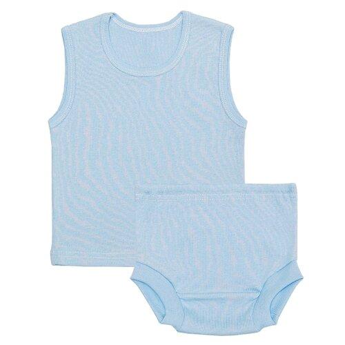 Купить Комплект нижнего белья Чудесные одежки размер 74, голубой, Белье