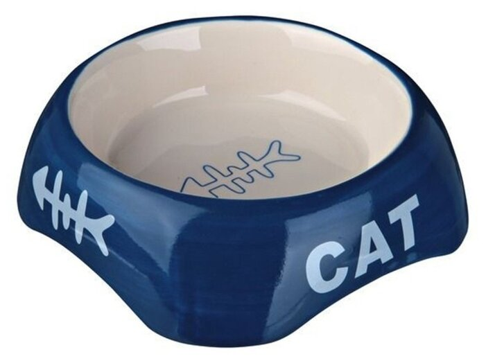 Миска TRIXIE 24498 керамическая для кошки 200 мл
