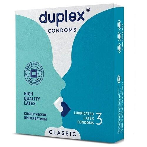 Презервативы Duplex Classic (3 шт.)
