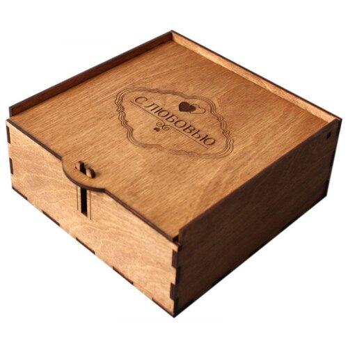Коробка подарочная ArtandWood С любовью тик