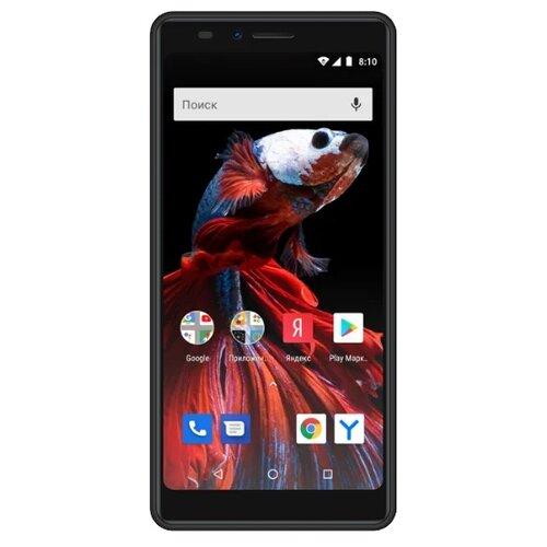 Смартфон VERTEX Impress Pluto черный смартфон