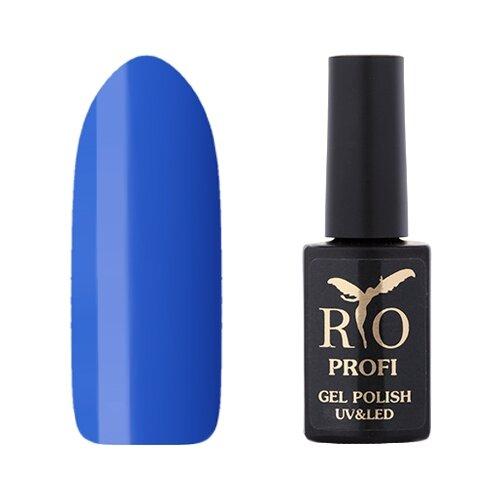 Купить Гель-лак для ногтей Rio Profi Классическая серия, 7 мл, 167 любимый синий