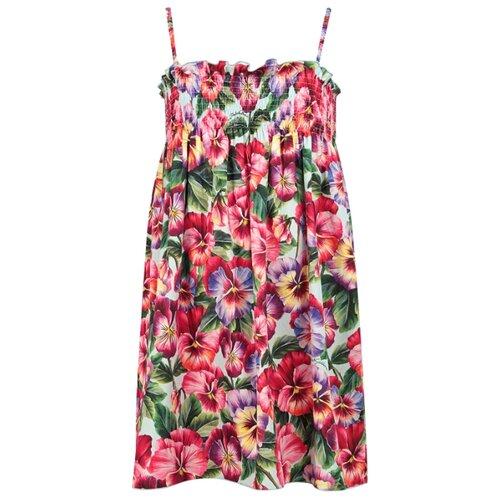 Платье DOLCE & GABBANA размер 116, розовый/цветочный принт
