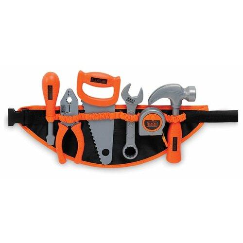 Smoby Набор инструментов Black&Decker на поясе (360107), Детские наборы инструментов  - купить со скидкой