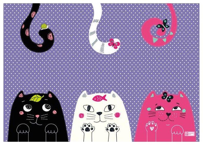 Настольное покрытие Феникс+ Три кота 70х50
